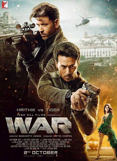 War (2019) Hindi 720p PreCAM Rip x264 AAC 1.2GB-CV