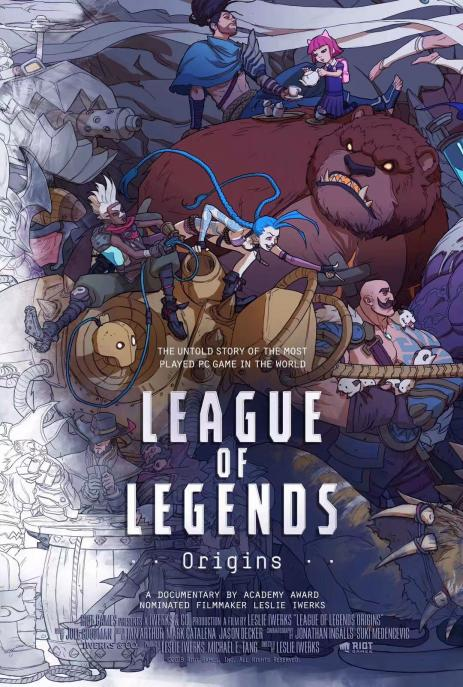 League of Legends Origins 2019 WEBRip XviD MP3-XVID