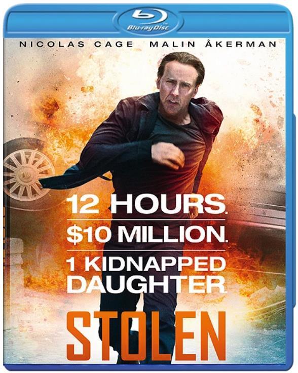 Stolen (2012) 720p BluRay x264 AC3 ESub Dual Audio Hindi DD5.1CH Eng 830MB-MA