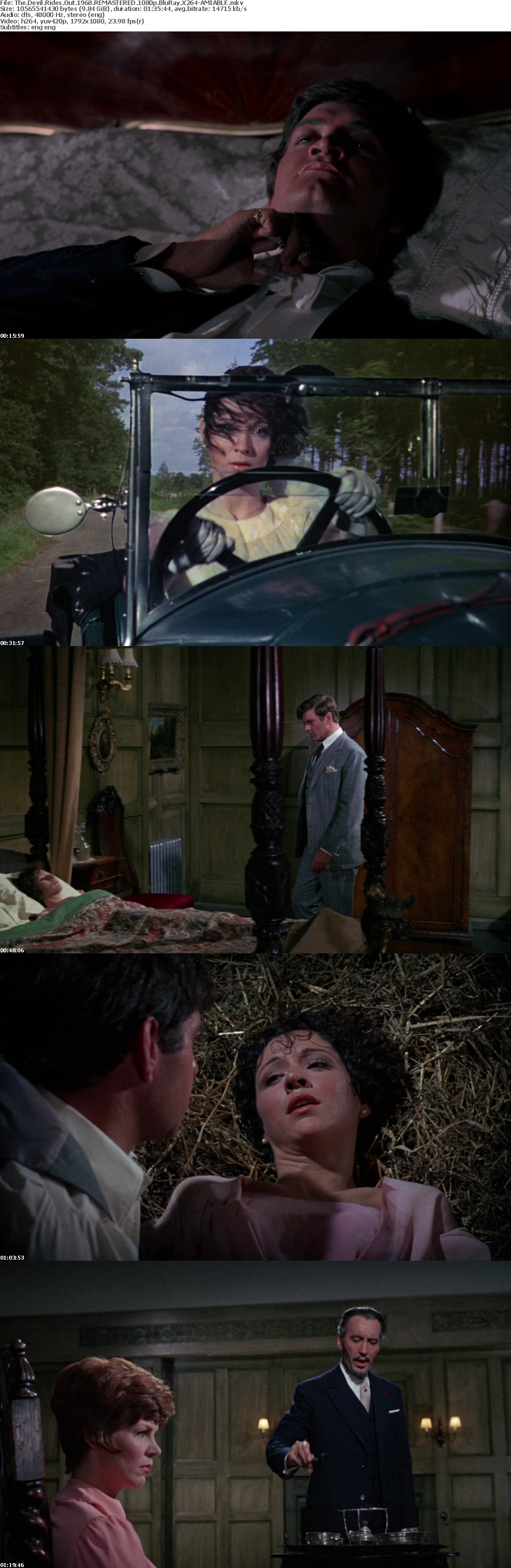 The Devil Rides Out 1968 REMASTERED 1080p BluRay X264-AMIABLE