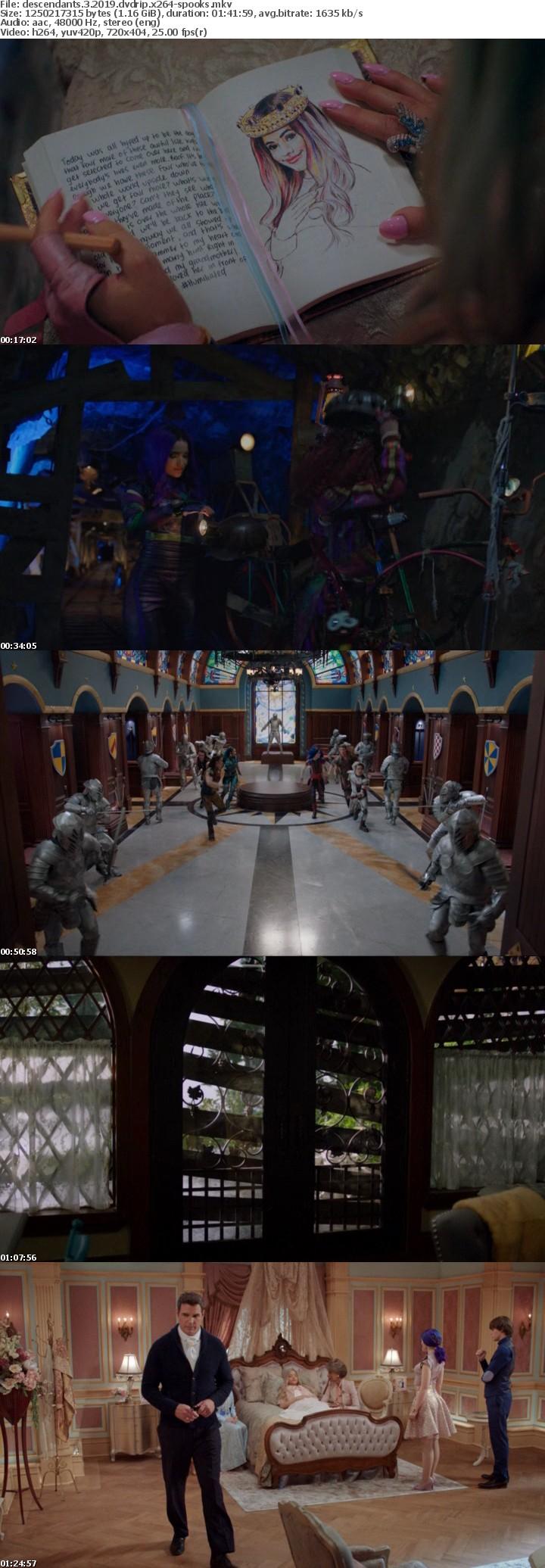Descendants 3 2019 DVDRip x264-SPOOKS