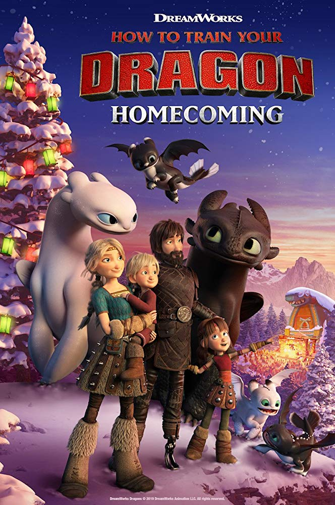 How To Train Your Dragon Homecoming 2019 HDRip AC3 x264-CMRG