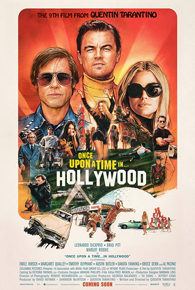 Once Upon a Time in Hollywood 2019 [BluRay] [720p] YIFY