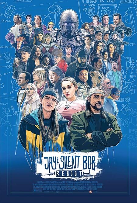 Jay and Silent Bob Reboot (2019) 720p BluRay 800MB x264  GalaxyRG