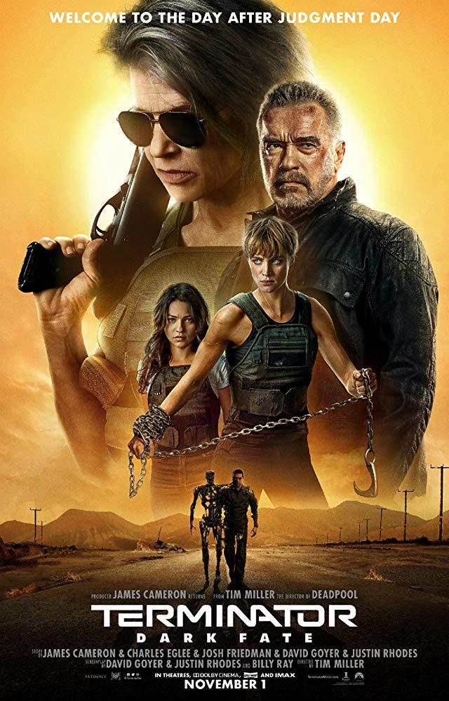 Terminator: Dark Fate 2019 English 1080p 10bit WEBRip x265 HEVC DD5 1 ESub - MoviePirate - Telly