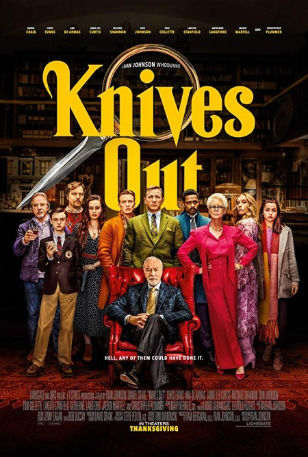 Knives Out 2019 720p WEBRip 900MB x264-GalaxyRG