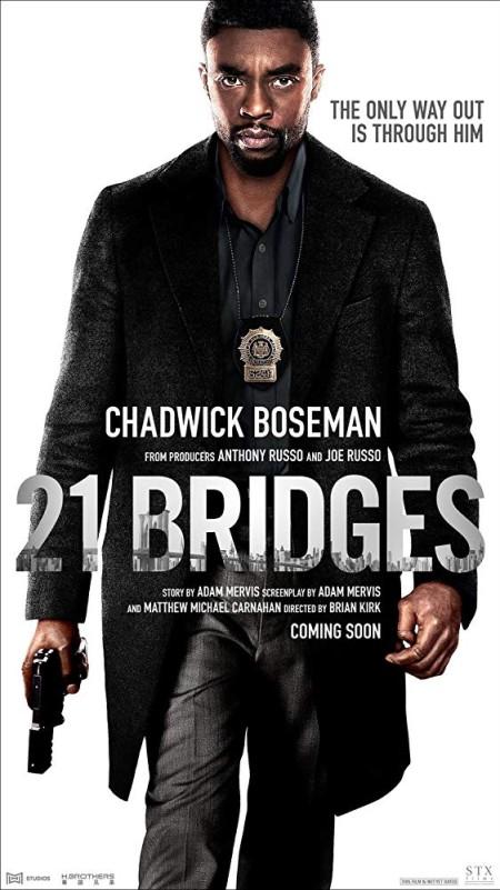 21 Bridges (2019) 1080p BluRay 1400MB DD5.1 x264-GalaxyRG