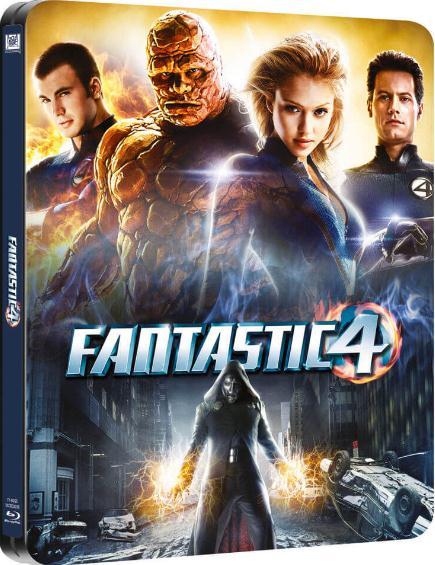Fantastic Four (2005) 1080p BluRay x264 Dual Audio Hindi English-SM