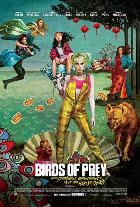 Birds of Prey And the Fantabulous Emancipation of One Harley Quinn 2020 720p WEB-DL H264 AC3-EVO