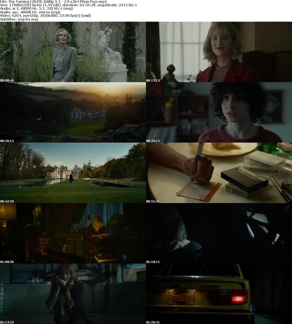The Turning (2020) 1080p 5 1 - 2 0 x264 Phun Psyz