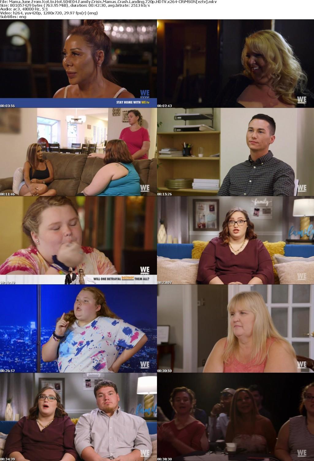 Mama June From Not to Hot S04E04 Family Crisis Mamas Crash Landing 720p HDTV x264-CRiMSON