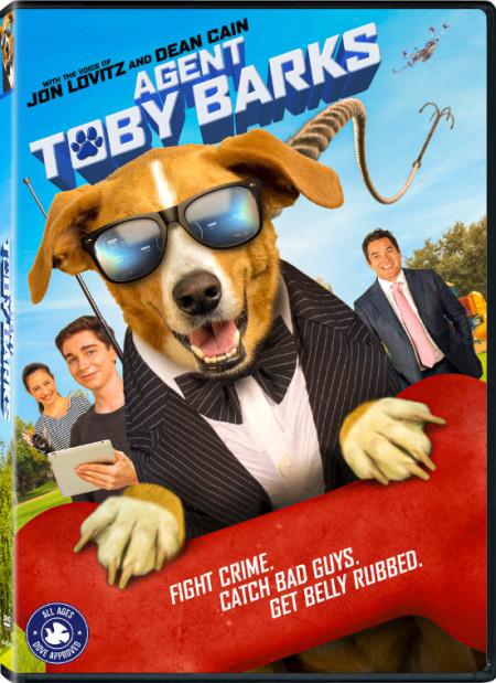 Agent Toby Barks 2020 720p WEBRip 800MB x264-GalaxyRG