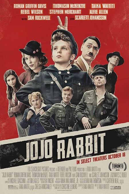 Jojo Rabbit 2019 1080p BluRay Hindi English x264 DD 5 1 MSubs - LOKiHD - Telly
