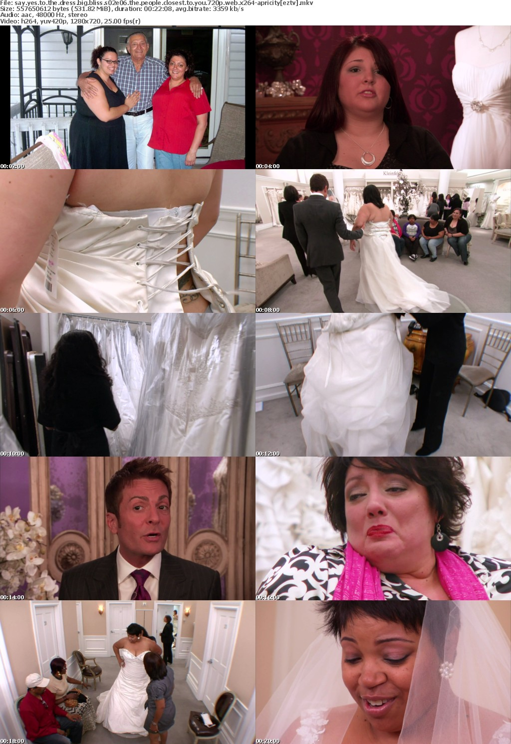 Say Yes to the Dress Big Bliss S02E06 The People Closest to You 720p WEB x264-APRiCiTY