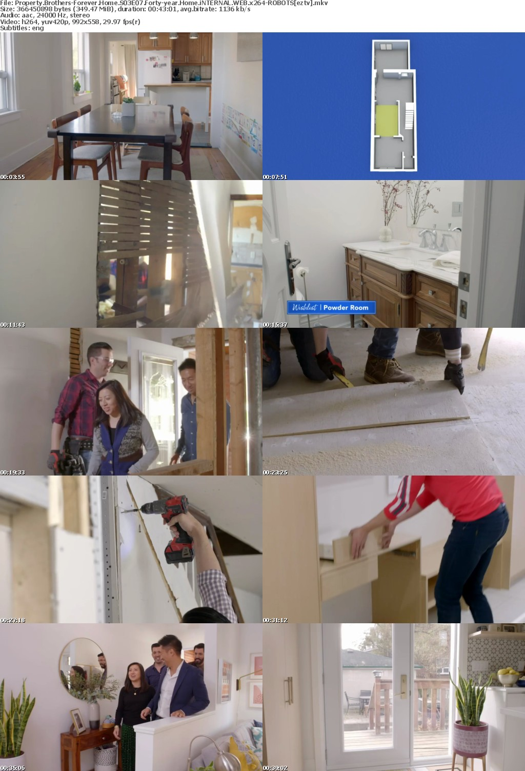 Property Brothers-Forever Home S03E07 Forty-year Home iNTERNAL WEB x264-ROBOTS