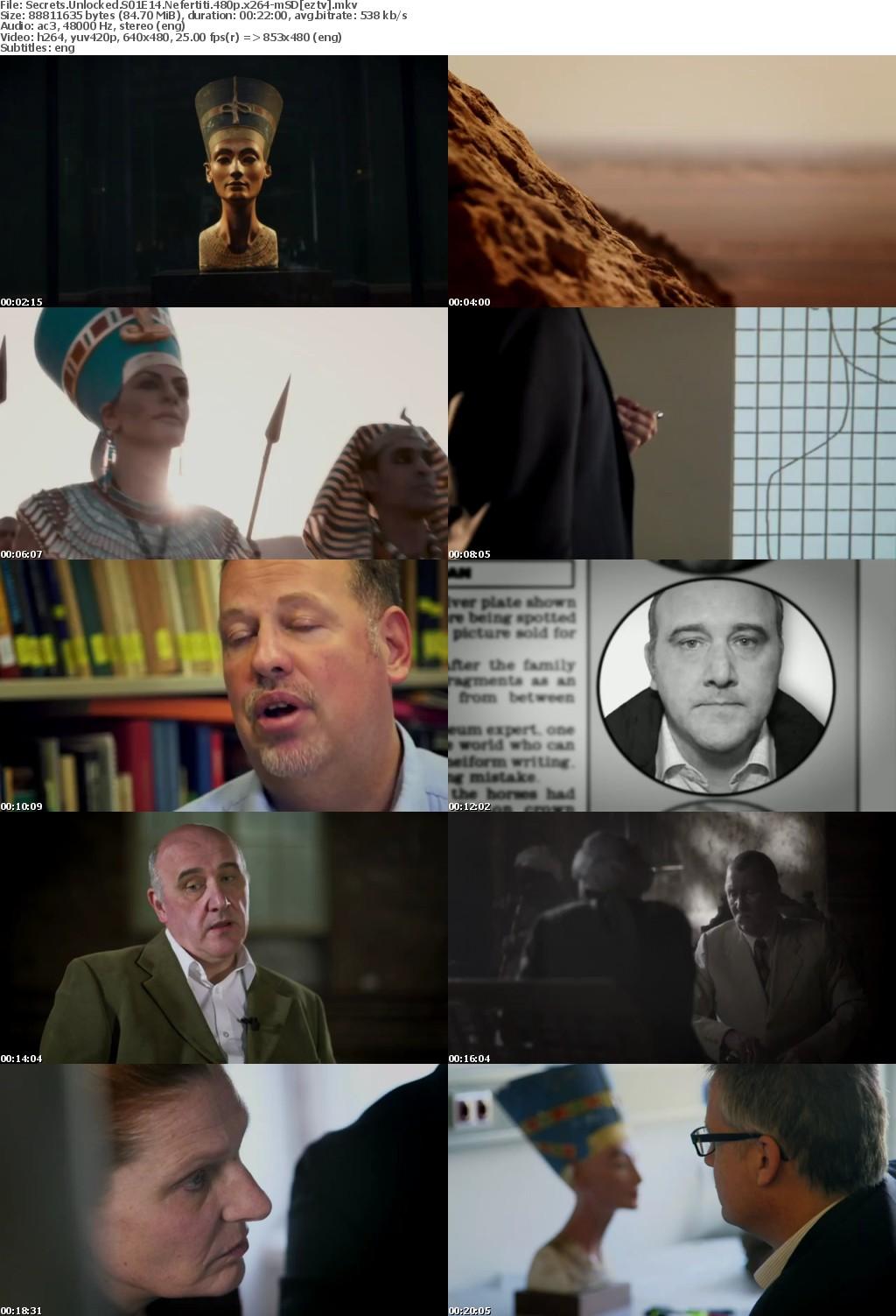 Secrets Unlocked S01E14 Nefertiti 480p x264-mSD