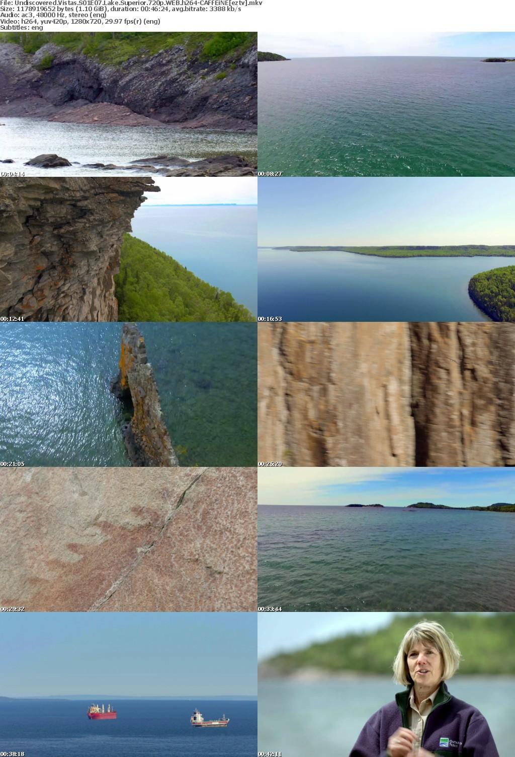 Undiscovered Vistas S01E07 Lake Superior 720p WEB h264-CAFFEiNE
