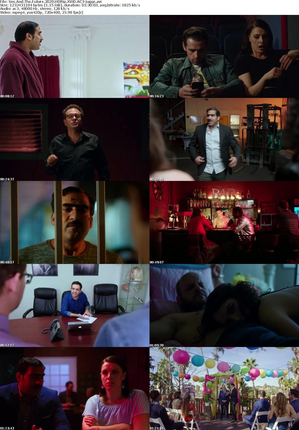 Sex And The Future (2020) HDRip XViD AC3-juggs