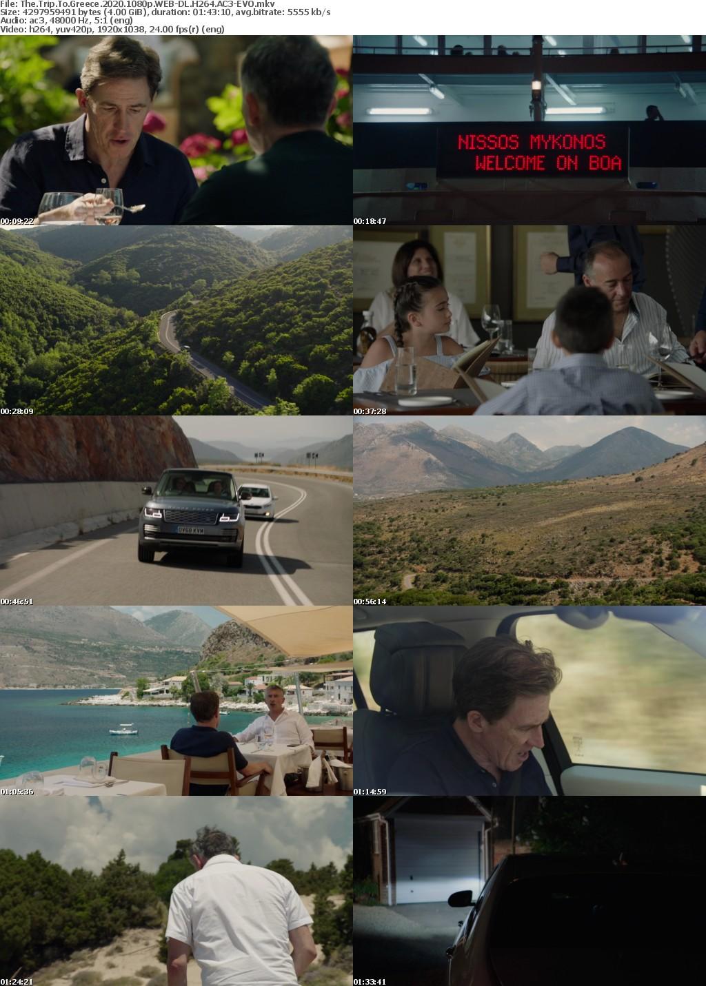 The Trip To Greece (2020) 1080p WEB-DL H264 AC3-EVO