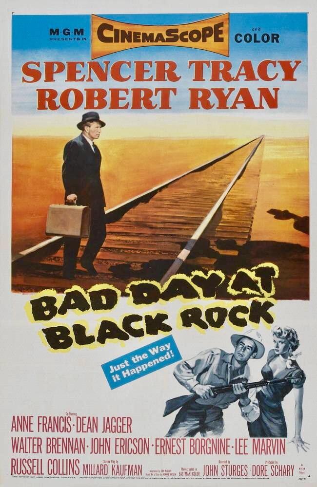 Bad Day at Black Rock (1955) [720p] [BluRay] [YTS MX]