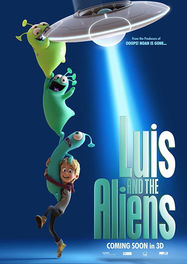 Luis and the Aliens (2018) [1080p] [BluRay] [YTS MX]