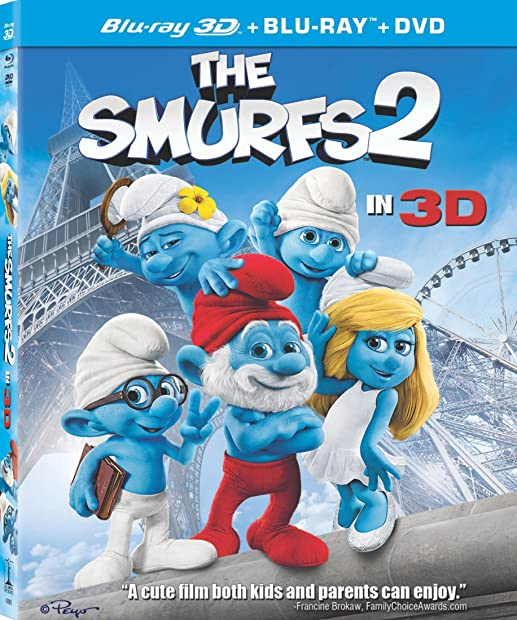 The Smurfs 2 (2013) 3D HSBS 1080p BluRay x264-YTS