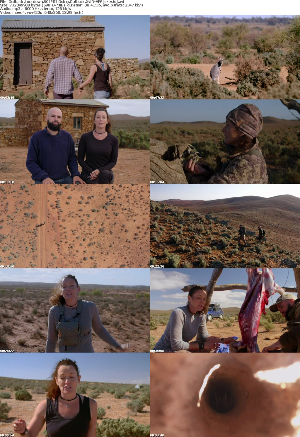 Outback Lockdown S01E01 Going Outback XviD-AFG