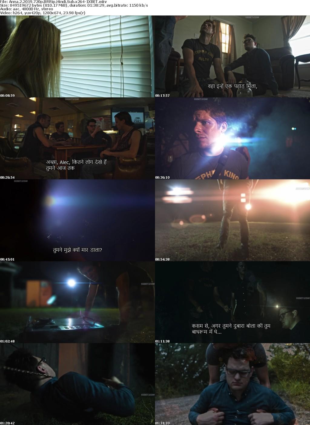 Anna 2 (2019) 720p BRRip Hindi-Sub x264 - 1XBET