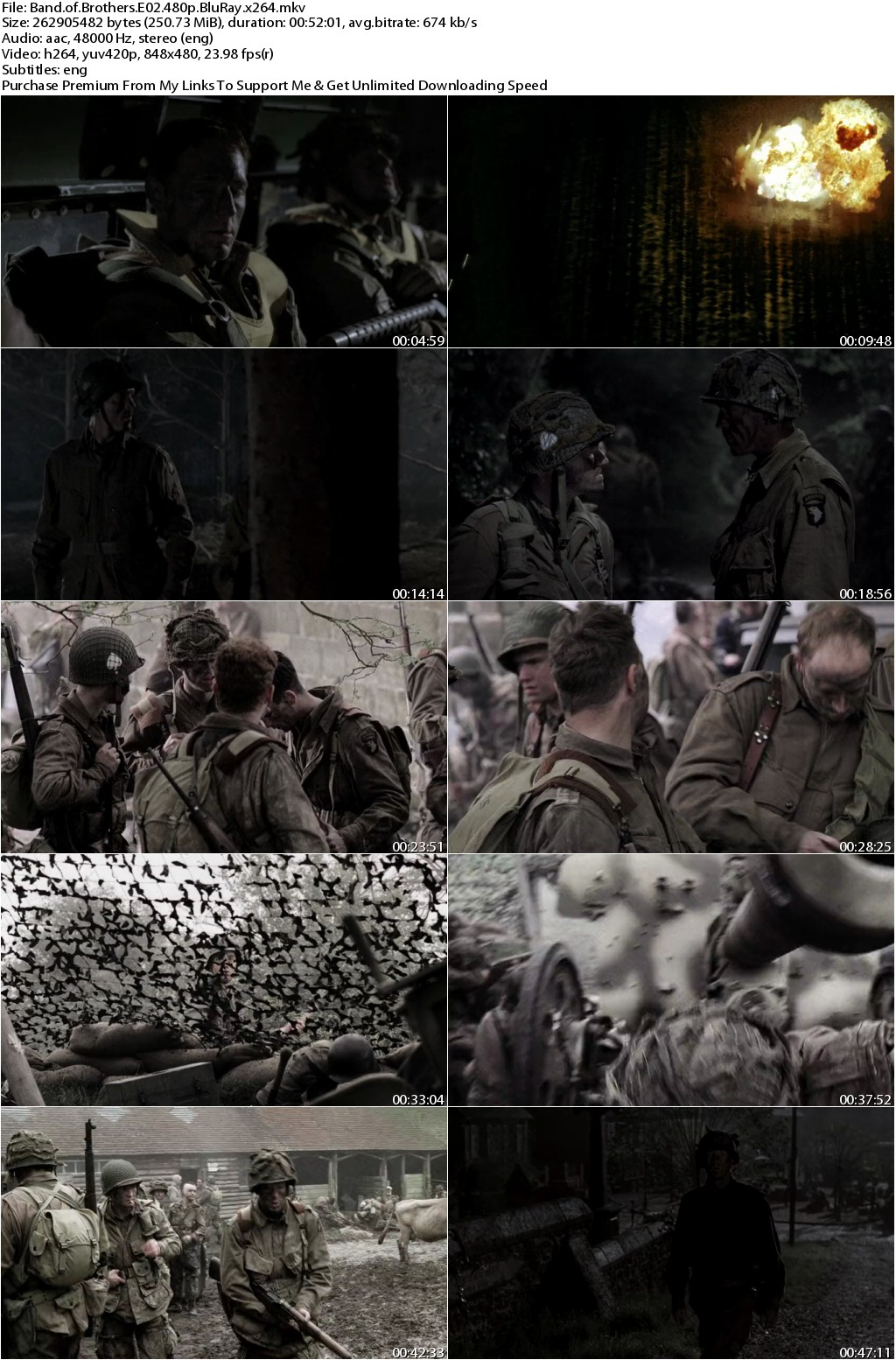 Band of Brothers Season 01 Complete 480p BluRay x264-DLW