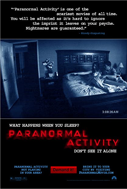 Paranormal Activity (2007) Unrated (1080p BDRip x265 10bit DTS-HD MA 5 1 -  ...