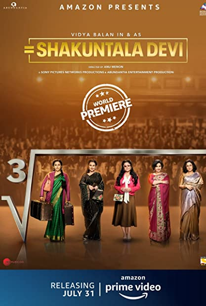 Shakuntala Devi 2020 Hindi 1080p AMZN WEBRip x264 DD 5 1 ESubs - LOKiHD - Telly
