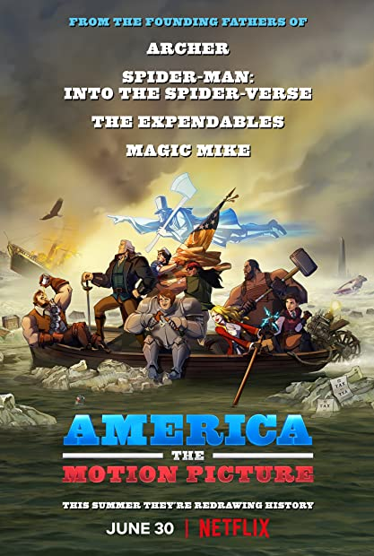 America The Motion Picture 2021 HDRip XviD AC3-EVO