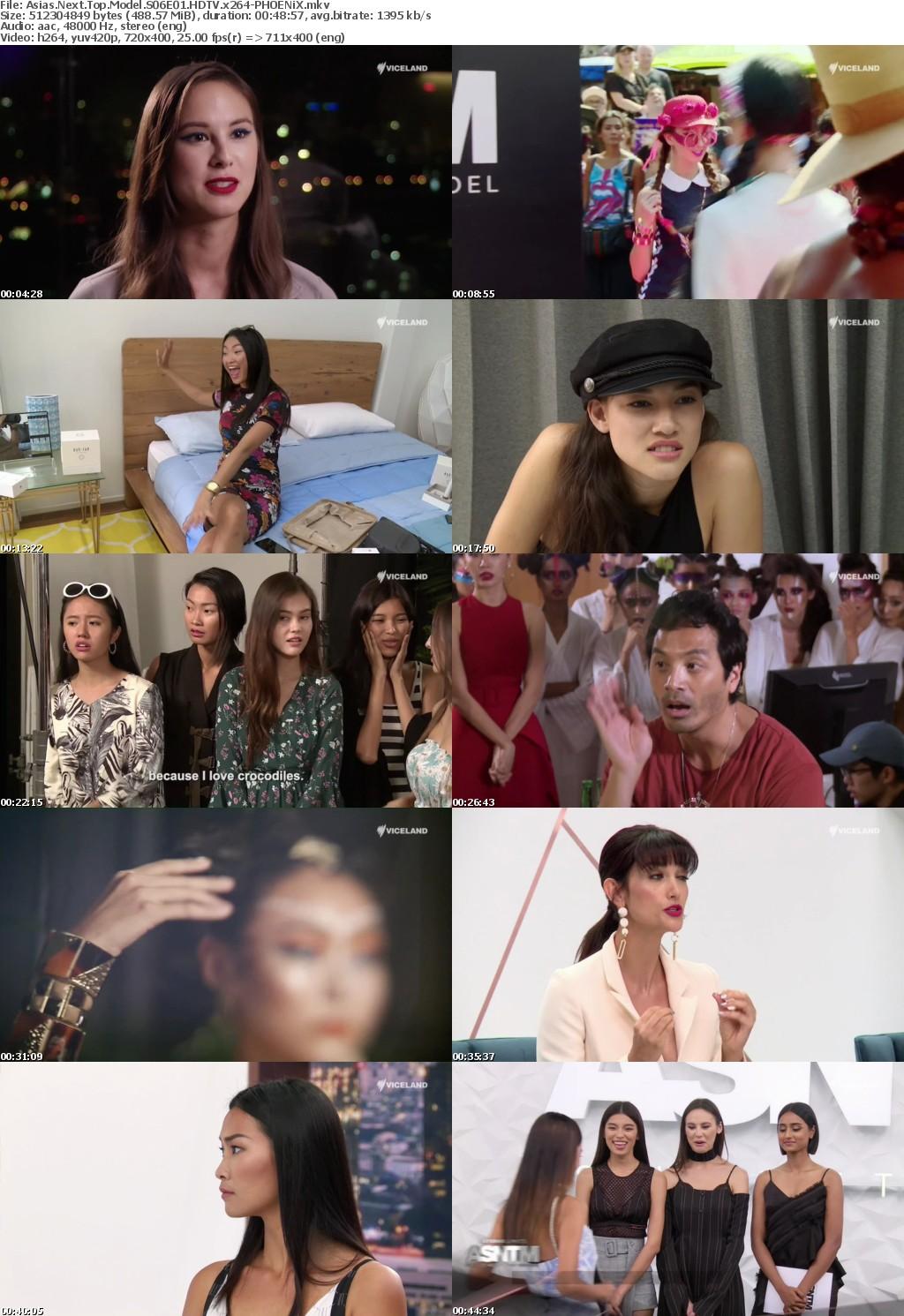 Asias Next Top Model S06E01 HDTV x264-PHOENiX