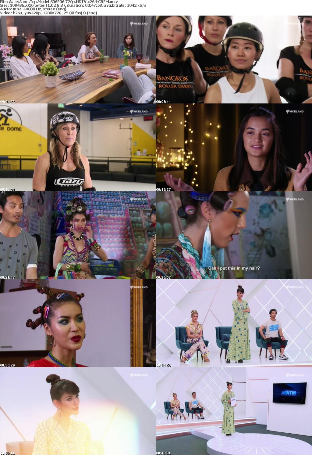 Asias Next Top Model S06E06 720p HDTV x264-CBFM