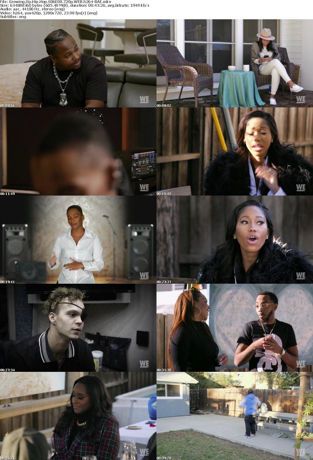 Growing Up Hip Hop S06E08 720p WEB h264-BAE