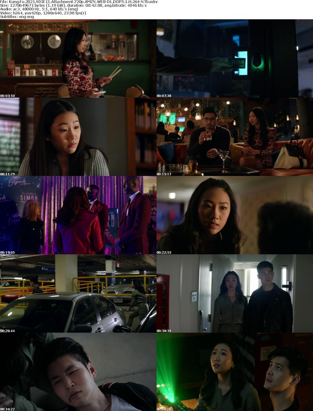 Kung Fu 2021 S01E11 Attachment 720p AMZN WEBRip DDP5 1 x264-NTb
