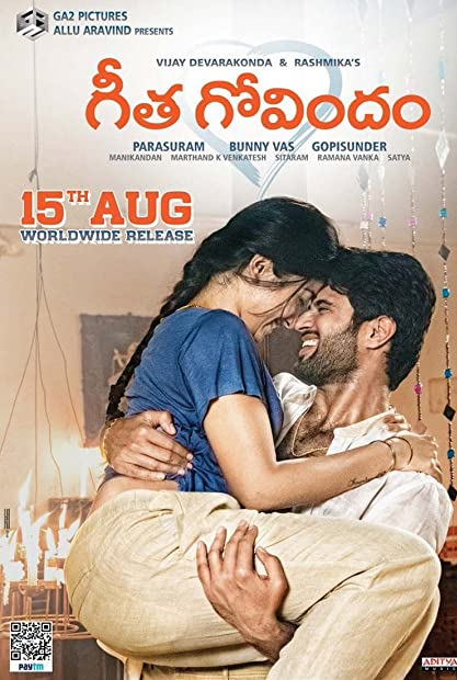 Geetha Govindam (2018) Hindi Dub 1080p WEB-DLRip Saicord