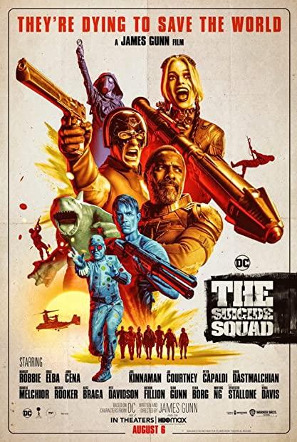 The Suicide Squad 2021 HDRip XviD AC3-EVO