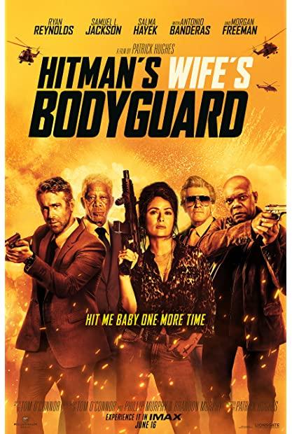 The Hitmans Wifes Bodyguard 2021 720p BluRay 800MB x264-GalaxyRG