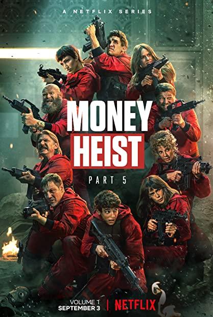 Money Heist Season 5 Part 1 480p WebDl x264-English-Hindi-Tam-Tel- MoviesFD